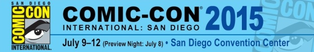 SDCC 2015 Banner - Click to learn about San Diego Comic-Con at their official web site!