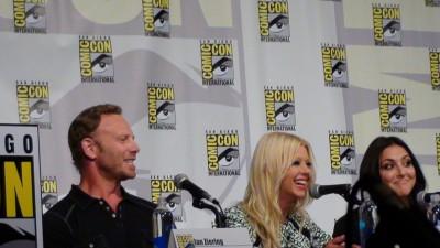 SDCC 2015 Sharknado panel Ian Ziering, Tara Reid and Cassie Scerbo