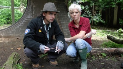 Primeval Connor and Abby - Click to learn more at BBC America!