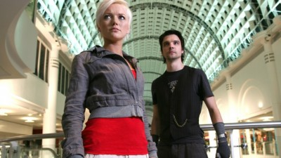 Primeval Series Two - Abby and Connot at the mall