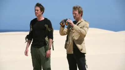 Primeval Series Two - Stephen and Cutter search the other side
