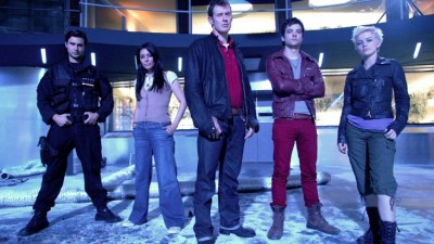 Primeval Series Three Team - Click to learn more at BBC America!