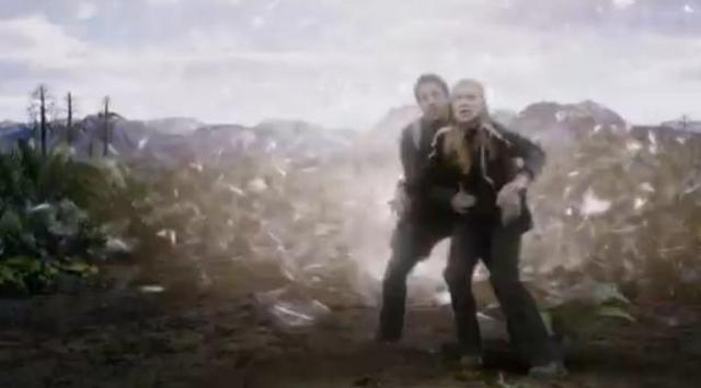 Primeval New World S1X01 back thru the anomaly