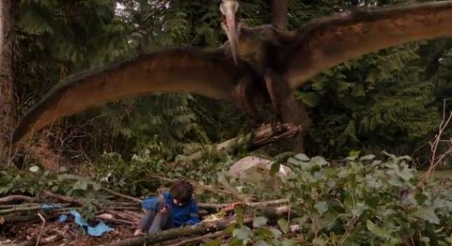 Primeval New World S1X01 with the monster