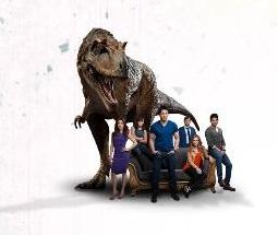 SPACE Primeval New World Cast with Dino - Click to learn more at the official web site!