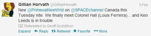 Gillian Horvath Tweets