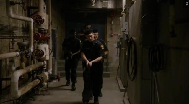 Primeval New World 01X11 Military after Mac and Dylan