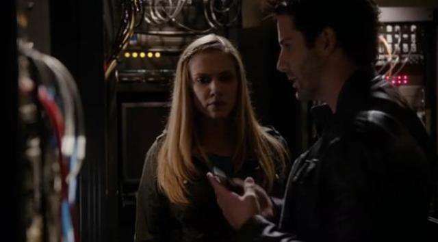 Primeval New World S1X10 Evan messes with tracking