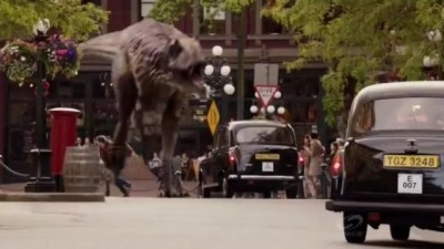Primeval New World S1x13 - T-Rex rampages in the UK