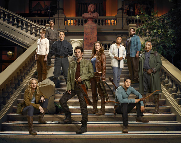 Revolution - Season Pilot - Cast poster - Click to learn more at the official NBC web site!