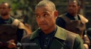 Revolution S1x01 - Captain Neville portrayed by Giancarlo Esposito