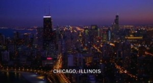 Revolution S1x01 - Chicago observed in the opening seconds