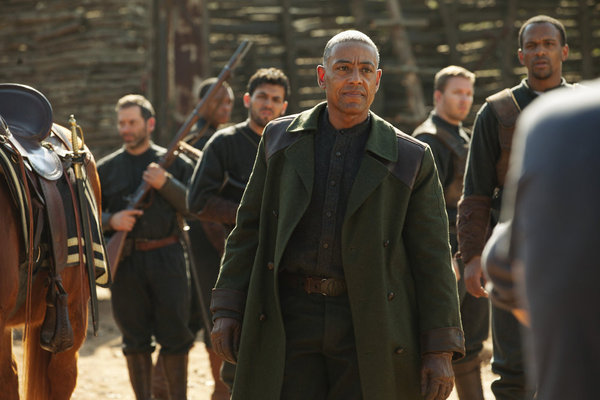 Revolution S1x01 Giancarlo Esposito as Captain Tom Neville