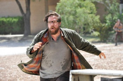 "Revolution S2x03 Aaron runs for his life -- ""Love Story"" Episode 203 -- Pictured: Zak Orth as Aaron Pittman -- (Photo by: Felicia Graham/NBC)"