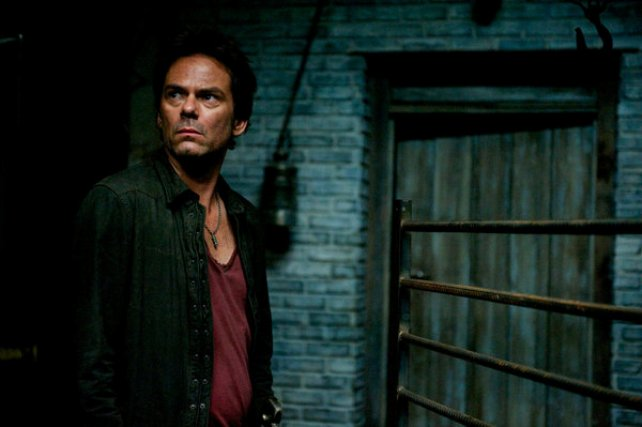 """Revolution S2x05 - Miles goes on patrol  """"Patriot Games"""" Episode 204 -- Pictured: Billy Burke as Miles Matheson -- (Photo by: Felicia Graham/NBC)"""