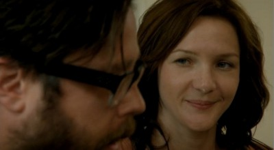 Revolution S2x02 - Cynthia shakes Aaron out of his hallucination