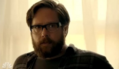 Revolution S2x04 - Aaron is concerned when Miles relates they are locked inside Willoughby by the Patriots