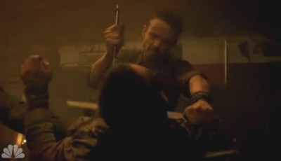 Revolution S2x04 - Monroe saves Charlie from the clansmen