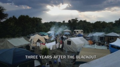 Revolution S2x06 - A refugee campo three years after the blackout