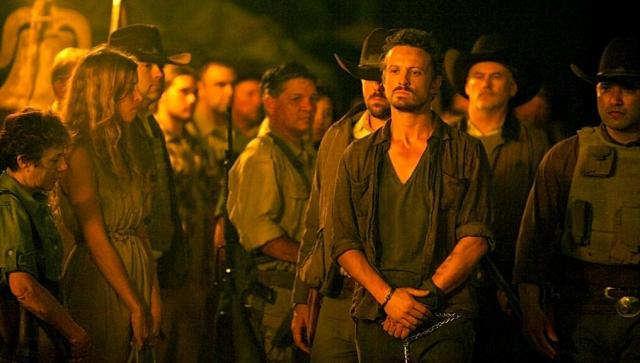Revolution S2x06 - Bass is Dead Man Walked through the towns people of Willoughby