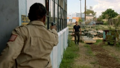 Revolution S2x06 - Drugged out Patriot recruit Jason is out to kill his father