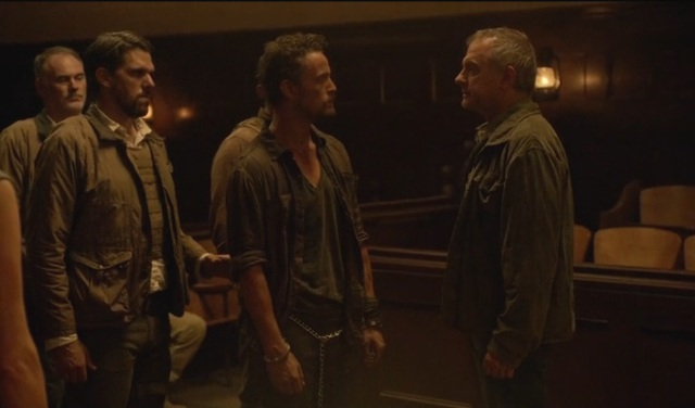 Revolution S2x06 - Gene Porter introduces himself to Monroe prior to the execution