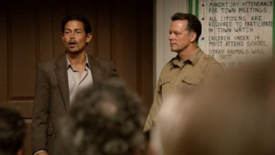 Revolution S2x06 - General Carver and Director Edward Truman have formed an alliance in Willoughby