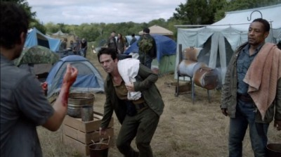 Revolution S2x06 - Monroe, Miles and Neville in the early days before the Monroe Republic