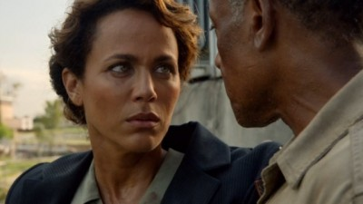 Revolution S2x06 - Neville tells Allenford she will be free to go when he lays eyes on his son Jason