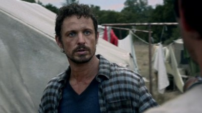 Revolution S2x06 - Sebastion Monroe as a younger man in the refugee camp