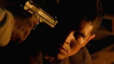 Revolution S2x06 - Tom Neville draws down on his drugged son Jason