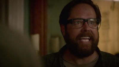 Revolution S2x07 - Aaron says Cynthia has to be saved from The Patriots also