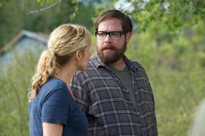 Revolution S2x10 - Rachel consoles Aaron at Cynthia's gravesite