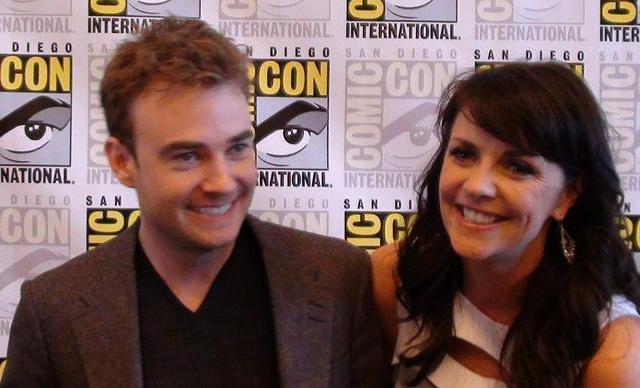 Comic-Con 2011 Sanctuary Press Robin and Amanda