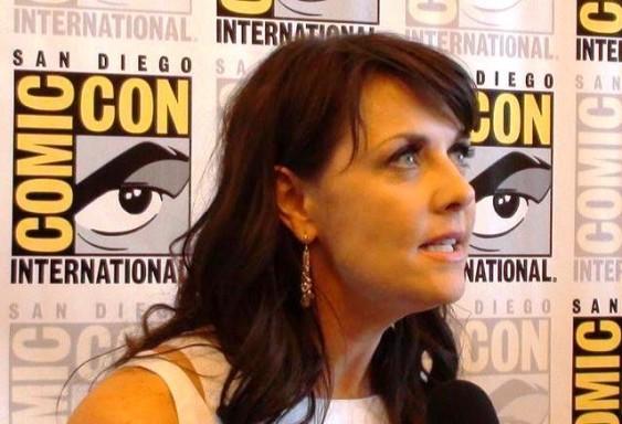 Comic-Con 2011 Sanctuary Press Amanda Tapping
