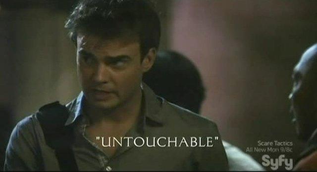 Sanctuary S4x03 - Ryan Robbins in Untouchable