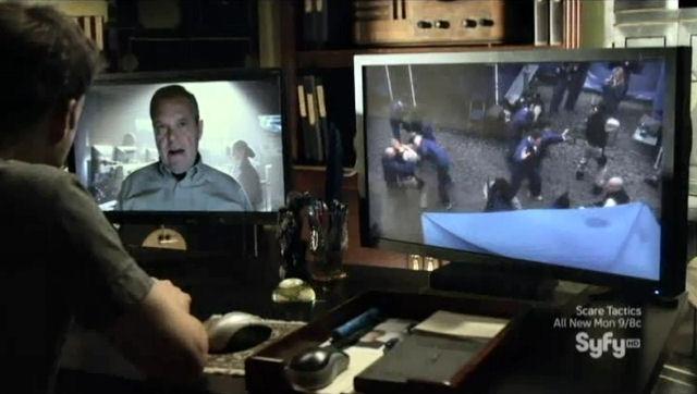 Sanctuary S4x02 General Villanova on screen
