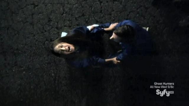 Sanctuary S4x02 - Karyn Baltzer as the empath