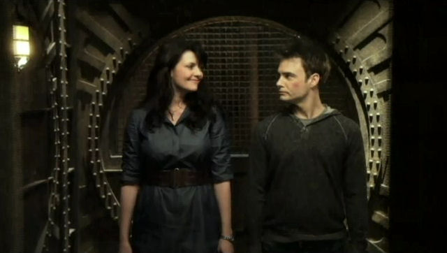 Sanctuary S4x02 - Helen and Will head off for a bit of wine to talk!