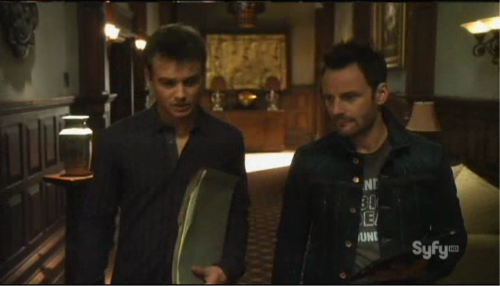 Sanctuary S4x04 - Will and Henry back at the Sanctuary