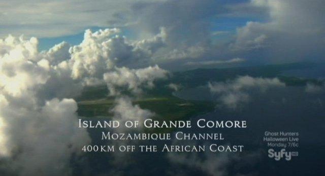 Sanctuary S4x04 - Island of Grande Comore off Africa