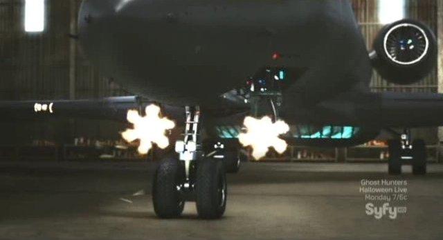 Sanctuary S4x04 - the aircrafts defenses