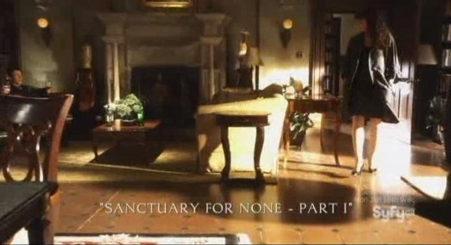 Sanctuary S4x12 - Sanctuary For None - Title