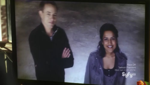 Sanctuary S4x10 Acolyte - Kate and Declan