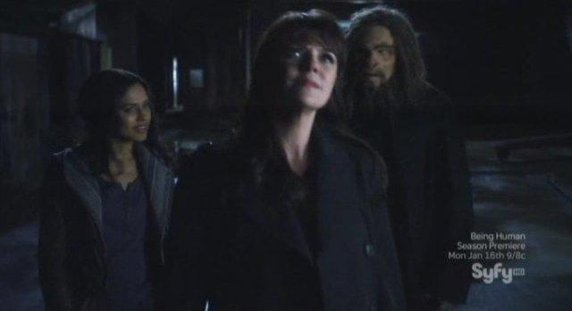 Sanctuary S4x13 - Magnus Kate and Big Guy leave Caleb