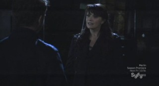Sanctuary S4x13 - Magus in the old city with Will