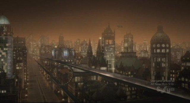 Sanctuary S3x11 - The City of Praxis