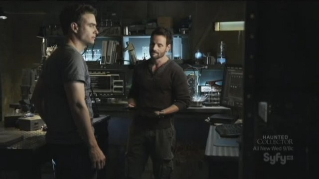 Sanctuary S3x20 - Henry and Will