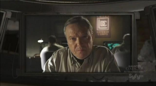 Sanctuary S3x20 - Not Maybourne, Tom McBeath as General Villanova