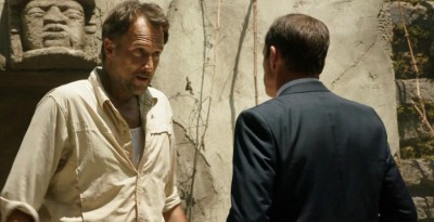 AgentsofSHIELD S1x02 Coulson and the Professor